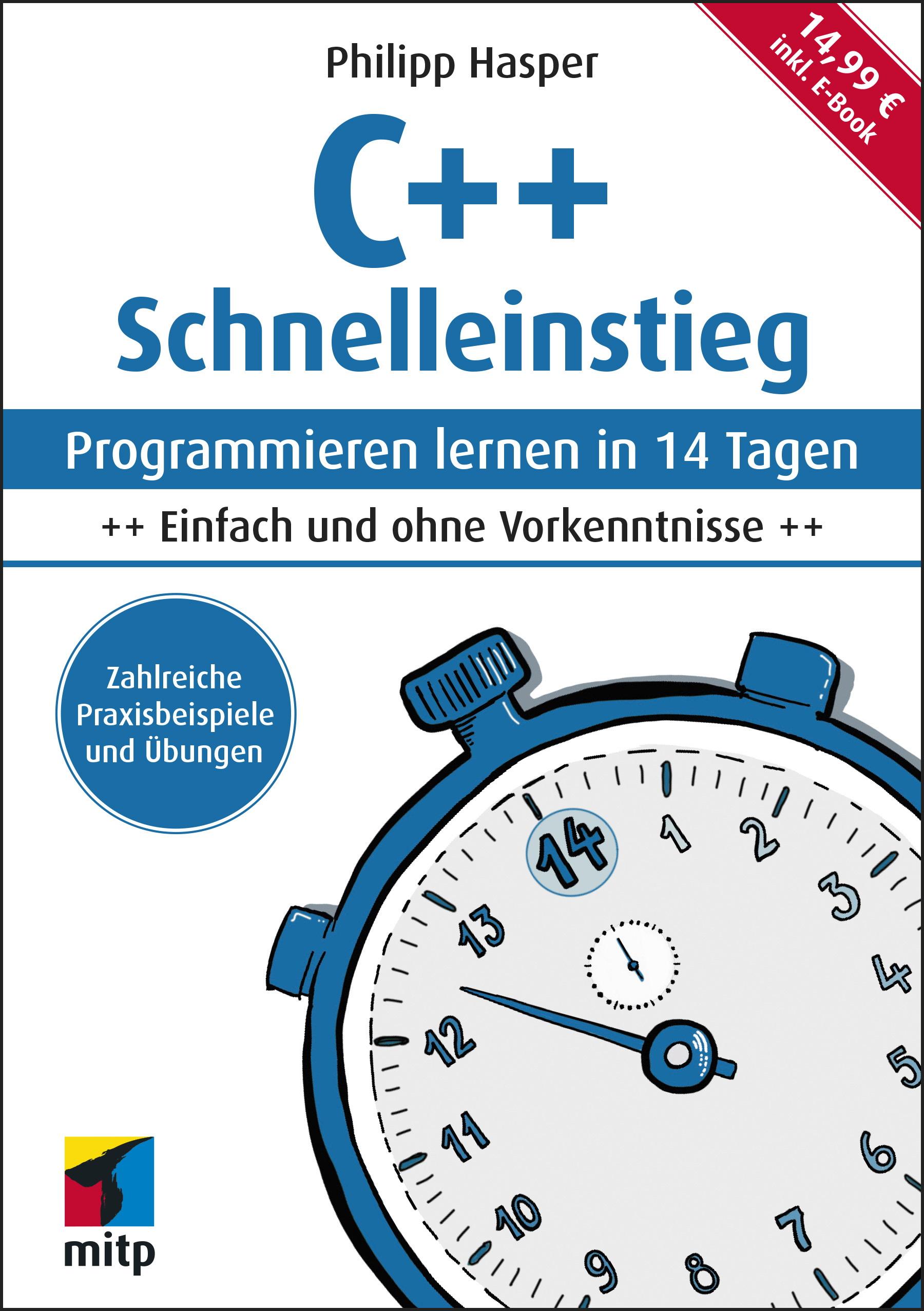 Buchcover C++ Schnelleinstieg, Philipp Hasper